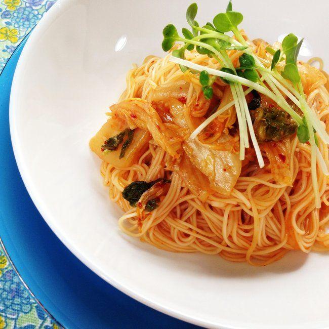 安い!早い!旨い!「キムチ素麺チャンプルー」の作り方 | nanapi [ナナピ]
