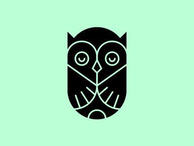 Awesome #logo #grafica #animali #illustrazioni #gufo