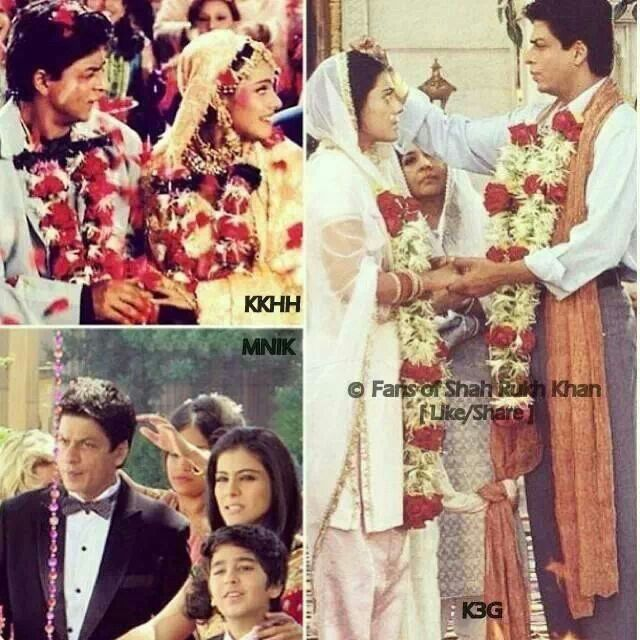 SRK And Kajol Marriage Stories