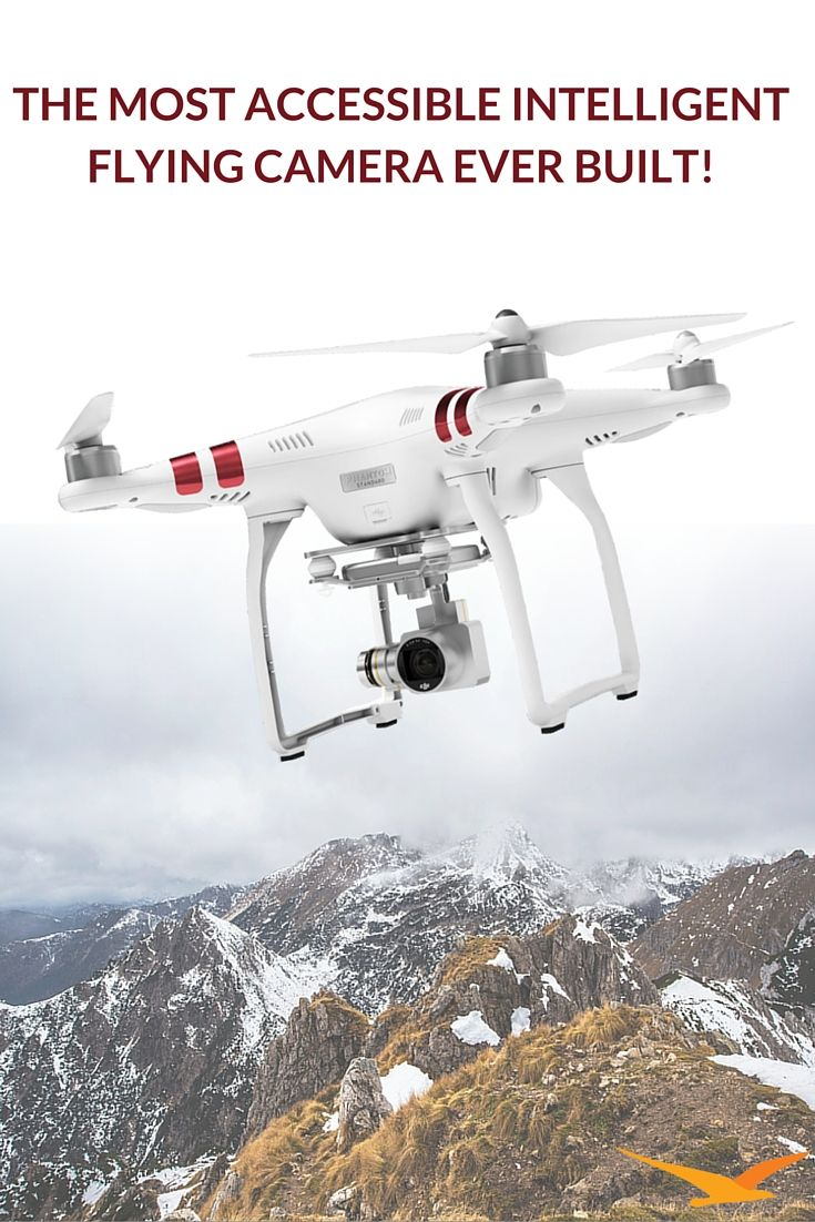 Meet the Phantom 3 Standard: The most accessible intelligent flying camera ever built. Easy to fly and engineered to let everyone take to the sky, now you have the power of flight!