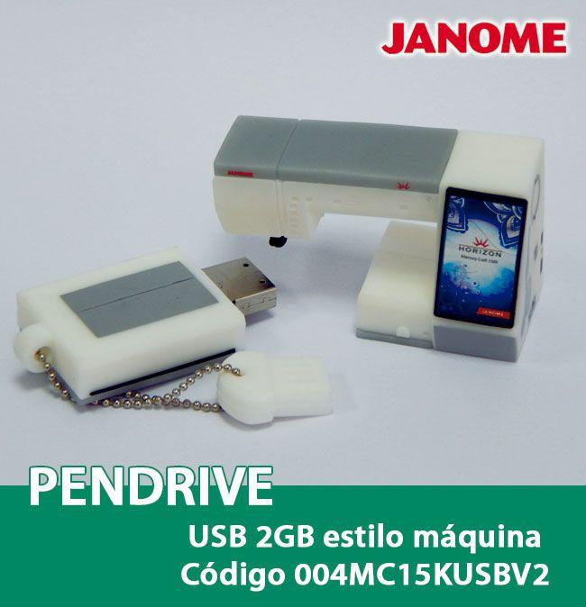 Pendrive 2GB máquina de bordar 004MC15KUSBV2