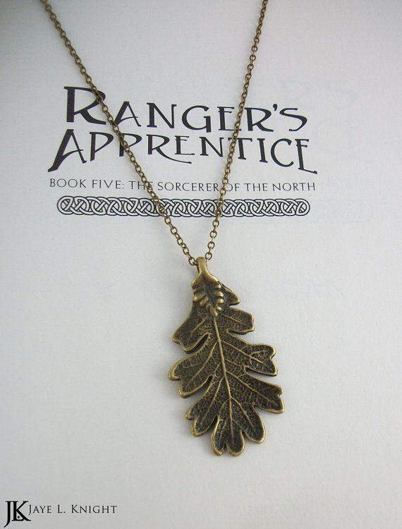 Bronze Oak Leaf Ranger's Apprentice Inspired by JayeLKnight