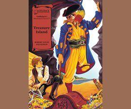 Treasure Island by R.L. Stevenson, audiobook, 36 min.