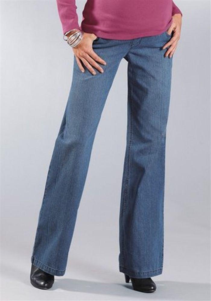 Umstandsjeans / Blue Jeans von 9 Monate Größe 38 (76 Lannggröße) NEU***