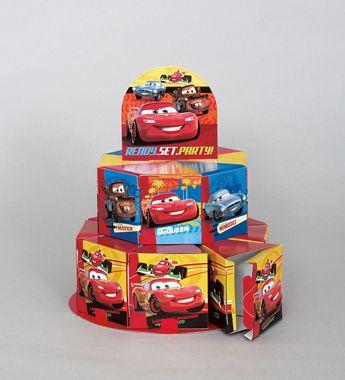 #DisneyCars Favor Boxes Centerpiece