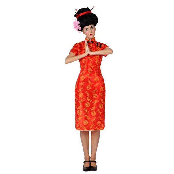 Disfraz de China Roja para mujer #disfraces #carnaval #novedades2016