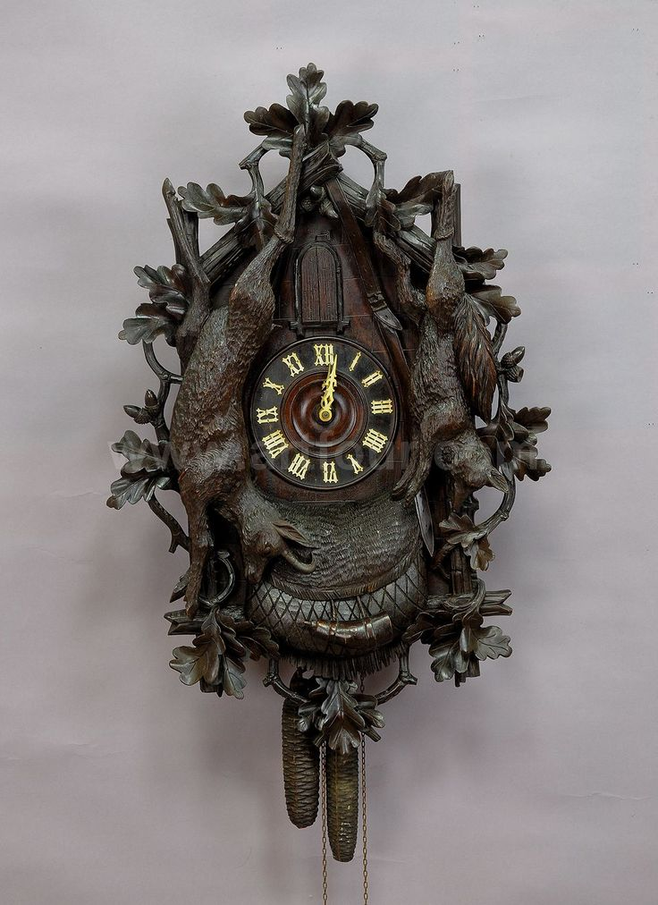 18 best images about antique black forest cuckoo clocks on pinterest stag head antiques and clock - Wooden cuckoo clocks ...
