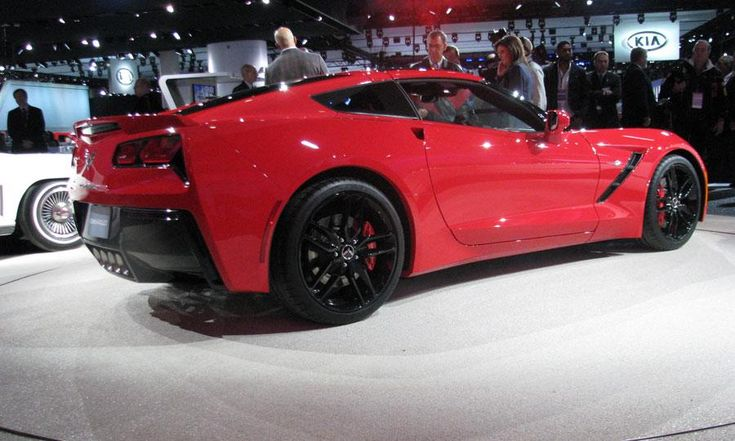 Chevy Corvette Stingray 2014