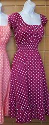 $48 Easter Dresses for Women 2013! Vintage MAGENTA Easter Dresses for juniors, misses and plus size women!