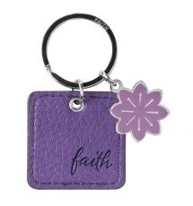 LuxLeather Keyring with hanging tag and a scripture verse stamped on the back. Available @ Faith4u Book and GIFT shop, Secunda. South Africa. Phone (017 34 7833 x 3) or email [faith4u@kruik.co.za] us to find out if we have stock in store. We can also place orders. Shalom Tilly and Odette
