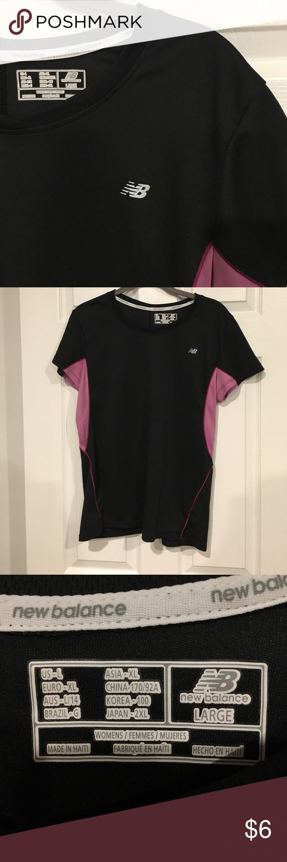 """Like new New Balance dry-Fit athletic top """"Lightning - dry"""" New balance quality! Shirt sleeve for comfort. New Balance Tops"""