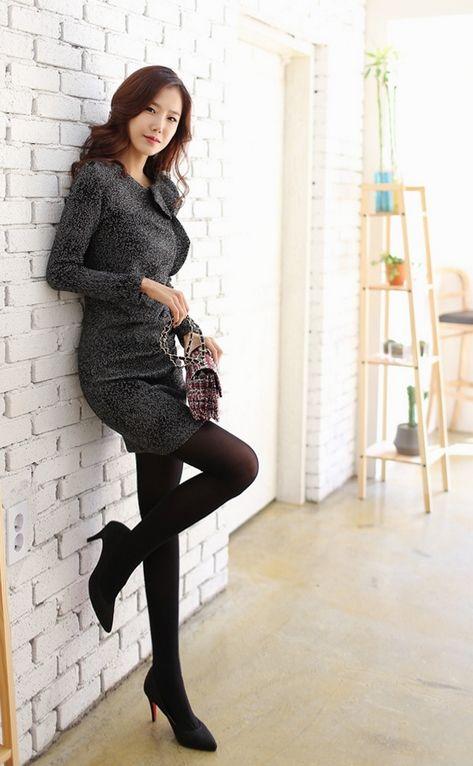 Korean Office Lady Dress | Korean Office Lady Style ...