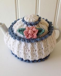 Watch Our Garden Tea Cozies Crochet Pattern Product Review: Skill: Easy Materials: Worsted Weight Yarn Size: 6-8 cup teapot; 4-6 cup teapot These two tea cozies are sure to perk up your morning! Few t More