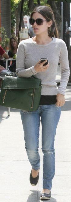 Jeans – Nobody Denim, Sweater – Vkoo, Purse – 3.1 Phillip Lim (2011)