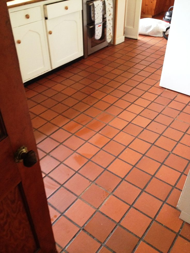 How to Clean Quarry Tile Floors   Quarry tiles, Tile flooring and ...