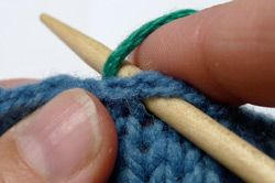 Picking Up Stitches: Cast-On or Bound-Off Edges - How To - Knitting Daily