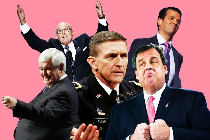 Secretaries Christie, Flynn, Gingrich, Giuliani, and Junior could all live up to the high bar their candidate has set for being dangerous and reckless.