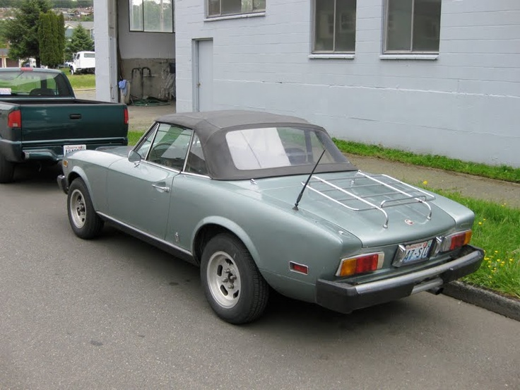 Image detail for -OLD PARKED CARS.: 1976 Fiat 124 Sport Spider.
