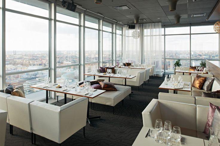 On the top of the world! Restaurang Himlen - Restaurang och Sky bar på Södermalm, Stockholm