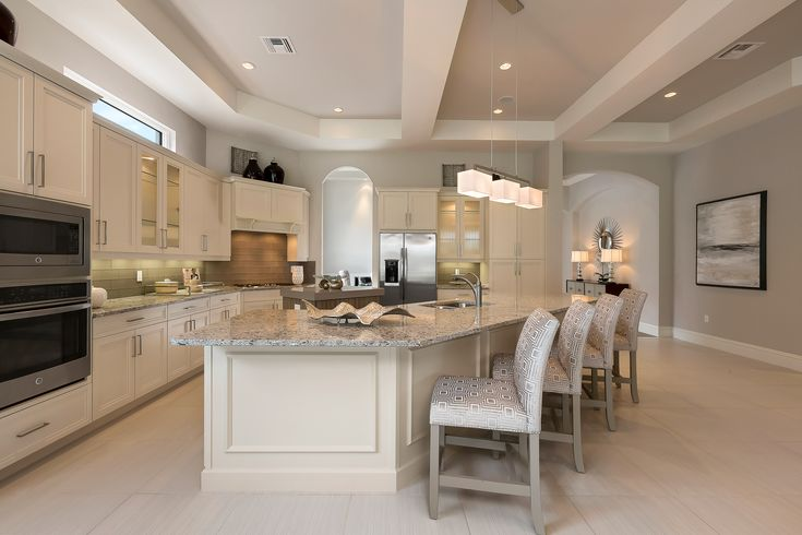 French Inspired Kitchen ~ Cipriani Model Home At Quail West, By McGarvey  Custmo Homes ~ Interior Design By Cherie Baer, Robb U0026 Stucky Naples ~ Photu2026 Part 84