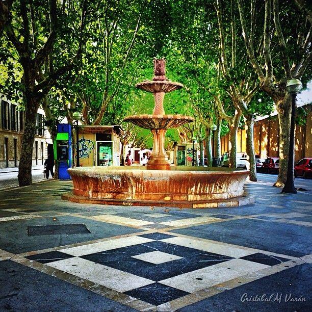 Fuente de las Ramblas de Palma - Mallorca, Spain