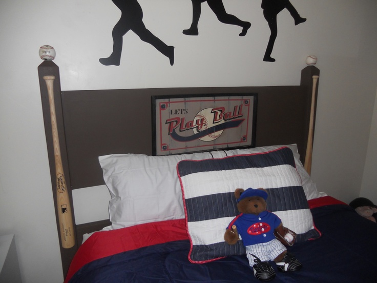 Baseball Headboard! My version