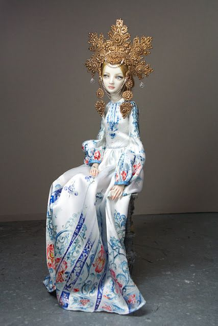 Enchanted dolls by Marina Bychkova    http://www.enchanteddoll.com/