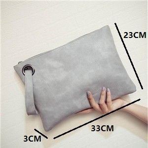Massive ladies clutch bag PU leather-based Girls's Clutches envelope Wristlets Women e…