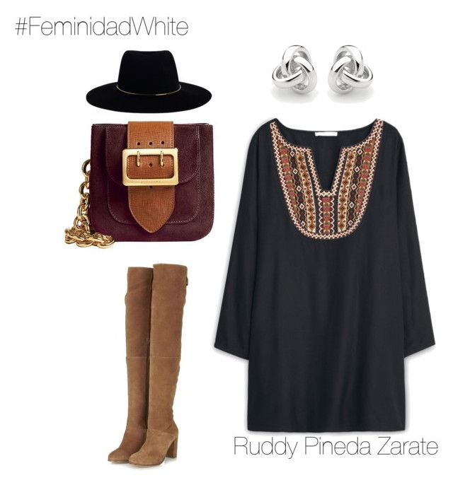 """""""Casual Outfit"""" by ruddy-pineda-zarate on Polyvore featuring Topshop, MANGO, Zimmermann, Burberry and Georgini"""