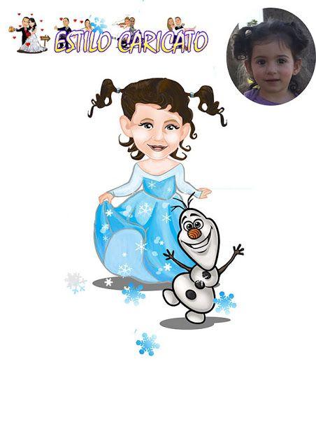 Caricatura a partir de foto baseado no tema da Frozen! Com um estilo elegante e caricato você encontra aqui, Caricatura de noivos para convites de Casamento, lembrancinhas para noivos, Banners e display de casamento. Caricaturas Para presentear amigos, família e padrinhos dos noivos. Quer uma caricatura!?!