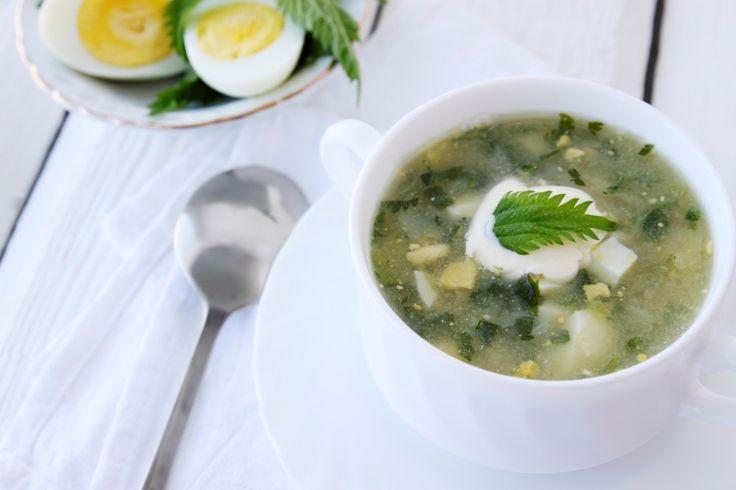 Zupa szczawiowa - przepis M. GESSLER z Kuchennych Rewolucji