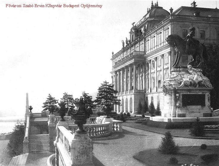 A Budavári Palota - keleti terasznak nevezett része
