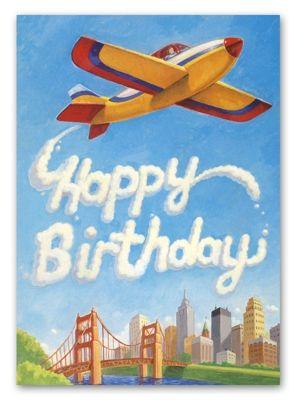 День рождения летчика открытка