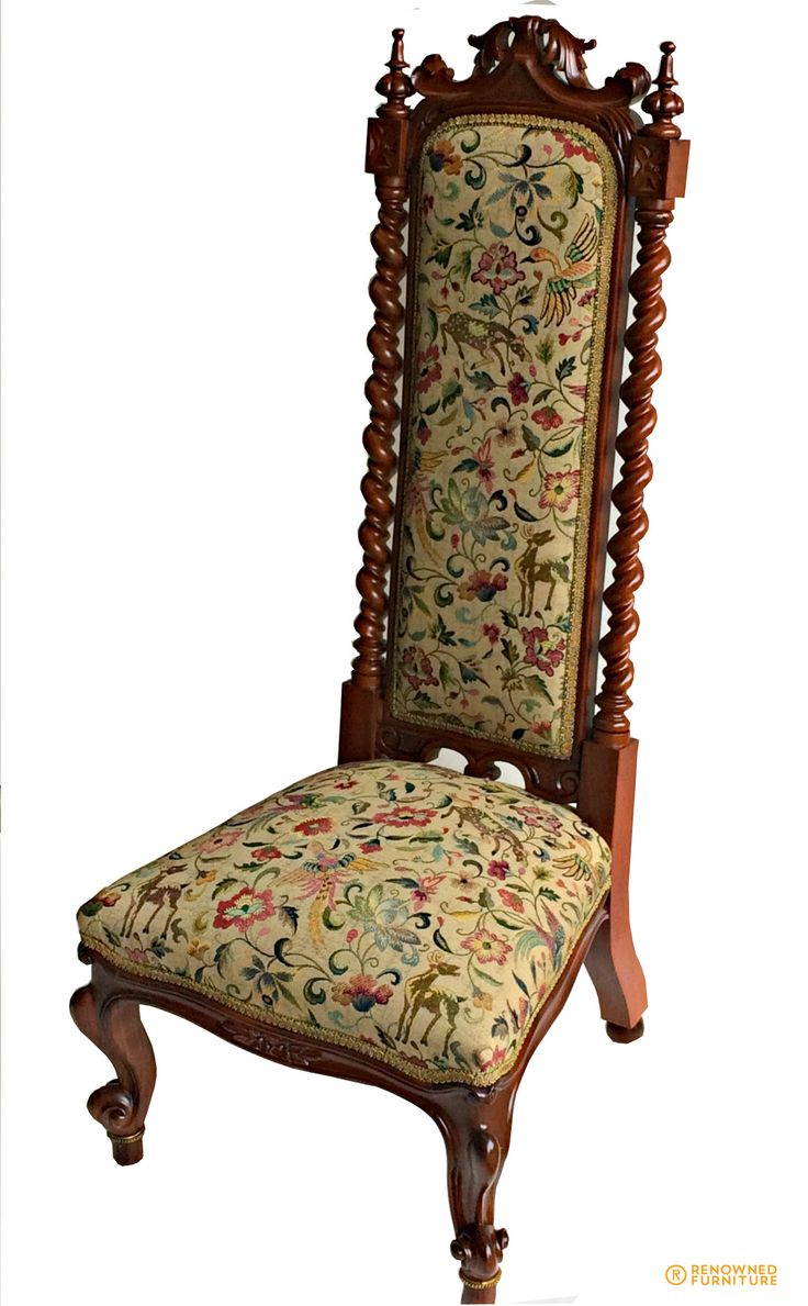 This chair was attacked by wood worms and now we have treated and restored it.   http://renownedfurniture.com.au/restoration/high-back-chair-damaged-by-wood-worms/  #highbackchairs #chairs #furniture #woodfurniture #furniturerestoration #restoration #furniturerepair