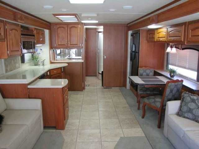 2007 Used Holiday Rambler Ambassador 40PDQ Class A in Florida FL.Recreational Vehicle, rv, 2007 Holiday Rambler Ambassador 40PDQ, 4 slides, 330 Cummins diesel engine, 21,000 miles.Six new Michellin tires. 8kW Onan diesel generator, In-motion satellite, 4G cell phone signal booster, power conditioner. Two couches - one jack-knife, one with a queen air mattress. Automatic hydraulic leveling system, outside shower, washer-dryer prep, central vacuum. Ceiling fan, electric awnings, 2000 watt…