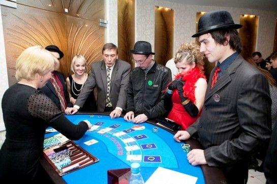 Мобильное казино на свадьбе