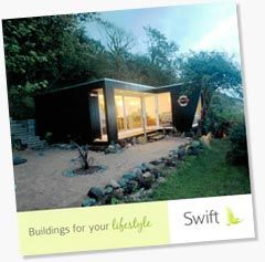 Swift garden studios - we do more than just adapt a standard model; we create your bespoke garden studio by designing it from scratch.