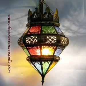 arabe de bronce y cristal