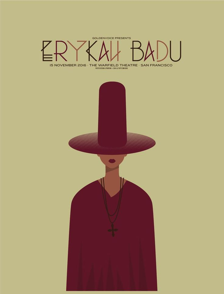 Image of Erykah Badu - San Francisco 2016