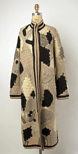 Coat (image 1) | American | early 1920s | wool, silk | Metropolitan Museum of Art | Accession Number: 1973.260.7
