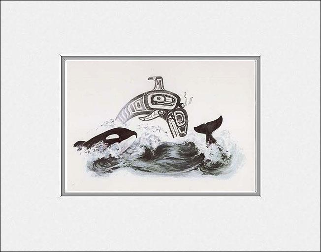 I love Pacific Northwest native indian artwork