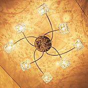 20W G4 8-light Iron Flush Mount Light with Cr... – EUR € 138.59