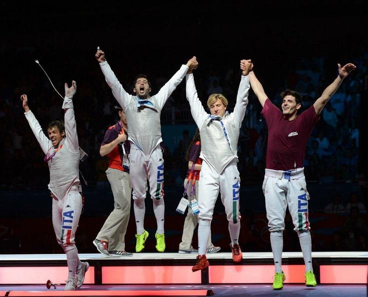 L'oro del fioretto maschile raccontato attraverso le immagini di Augusto Bizzi   Be Sport - Condivisione Olimpica