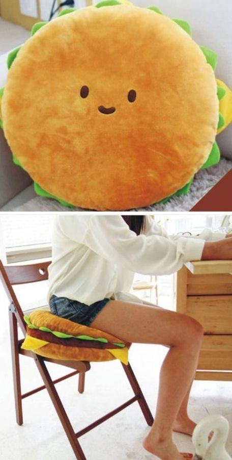 Best Cushion Ever Bubbaburger Burger Hamburger