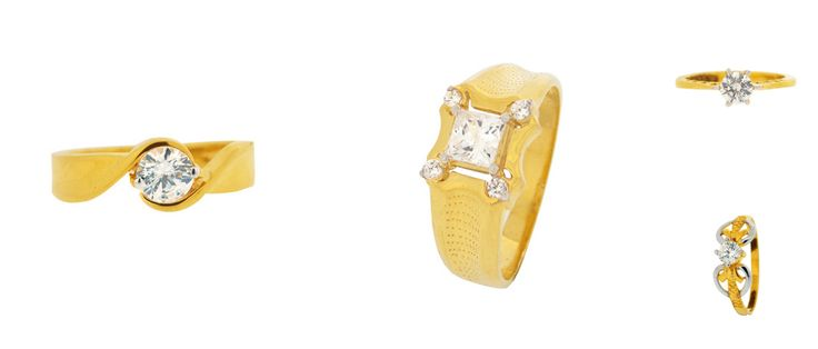 Latest Designs in Gold Rings...