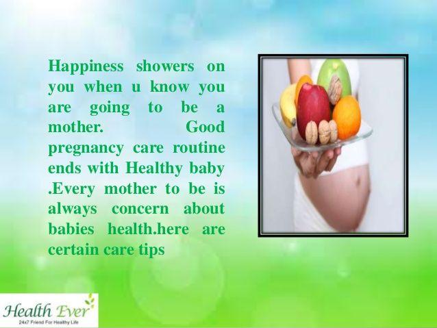 Baby health tips healthy