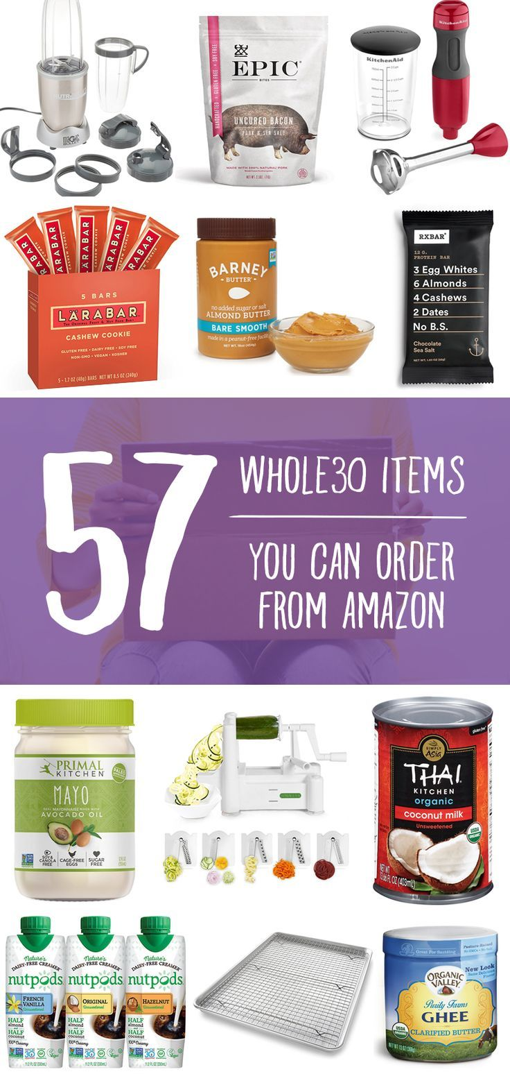 Whole30 Food And Kitchen Shopping List For Amazon Paleo
