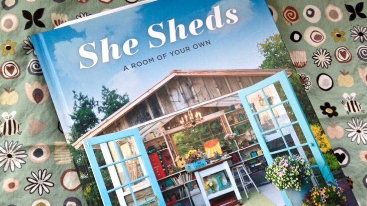Love She Sheds? Win the book
