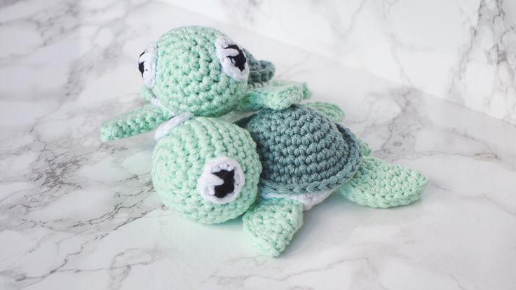 Review der Häkelanleitung für eine kleine Schildkröte von petitbonnet mit vielen Bildern und Infos