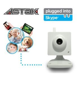 Mini wireless home camera. This Best Selling Astak GTCAM Plugged into Skype Your Home Adjustable IP Network Wireless 2-way Audio Camera, Skype calls without a computer Reviews Tends to SELL OUT VERY FAST!! if this is a MUST HAVE product, be sure to - Order Now to avoid disappointment